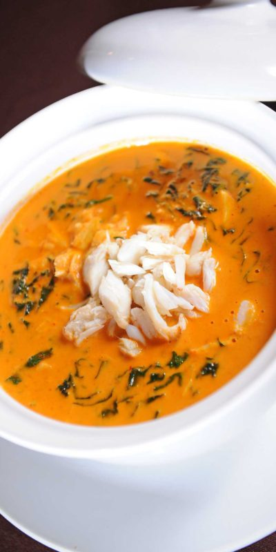 The rich, sweet flavor of crabmeat can be the foundation for a variety of dishes, from soup to salad to crabcakes. (Fotolia)