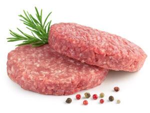 Бифштекс рубленный из мраморной говядины 0,5кг