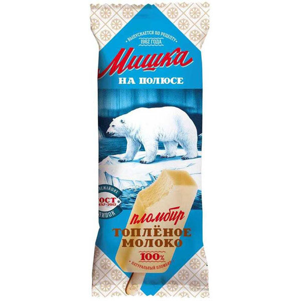 мороженое топл молоко