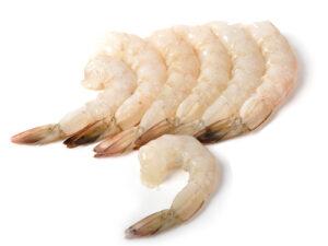Креветка Ваннамей с.м очищенная с хвостом без пищевода, 26-30. Вьетнам