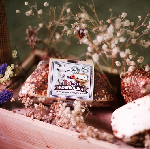 «ТоБаз» - сыр козий.