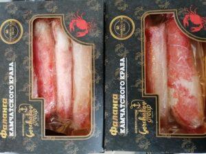 Фаланга камчатского краба 250гр (упаковка)