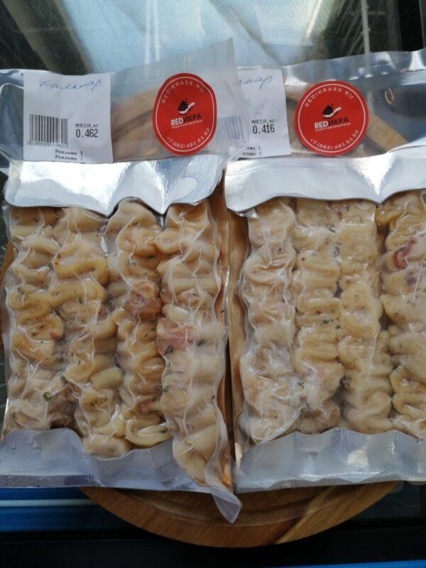 шашлык из кальмара в упаковке